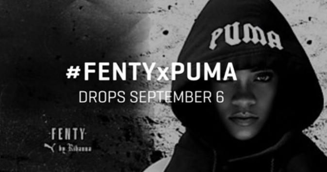 Collection FENTYXPUMA avec Rihanna et Naomi Campbell