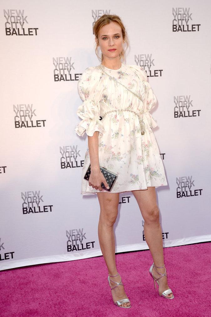 "Diane Kruger en Giambattista Valli à la soirée du ""New York City Ballet 2016 Fall Gala"""