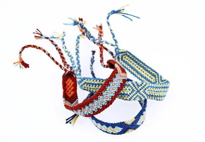 Bracelet brésilien, Miss Mochila. 25 €
