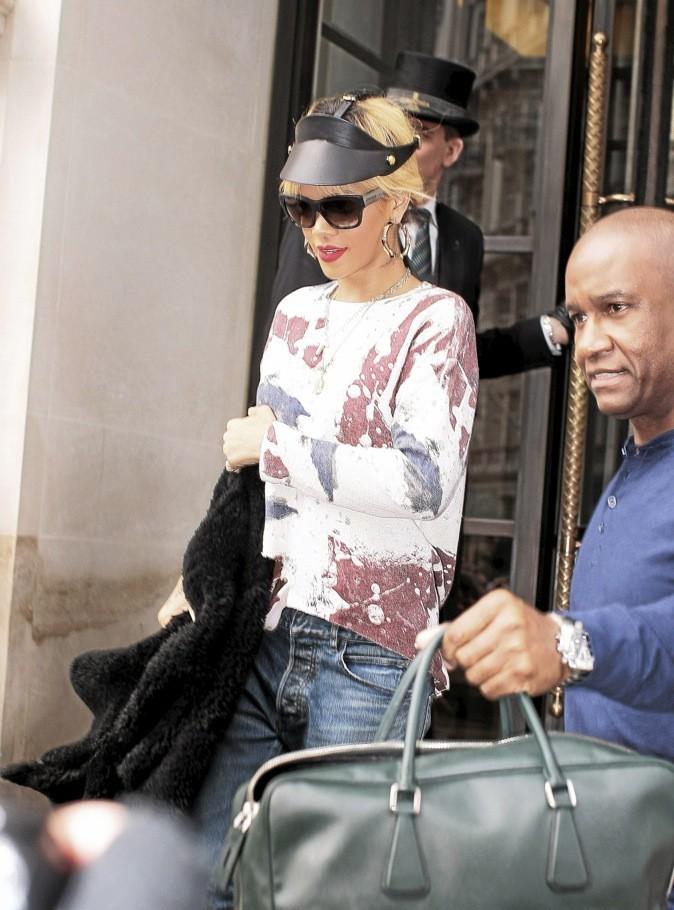 La visière en cuir Fleet llya de Rihanna !