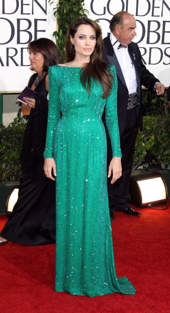 Angelina Jolie aux Golden Globes en 2011 !