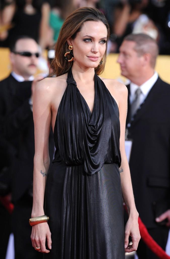 Angelina Jolie en janvier 2012 !