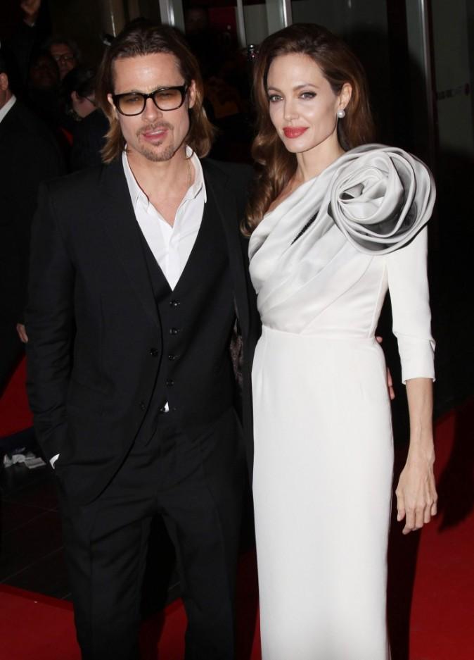 Angelina Jolie et Brad Pitt en février 2012 à Paris !