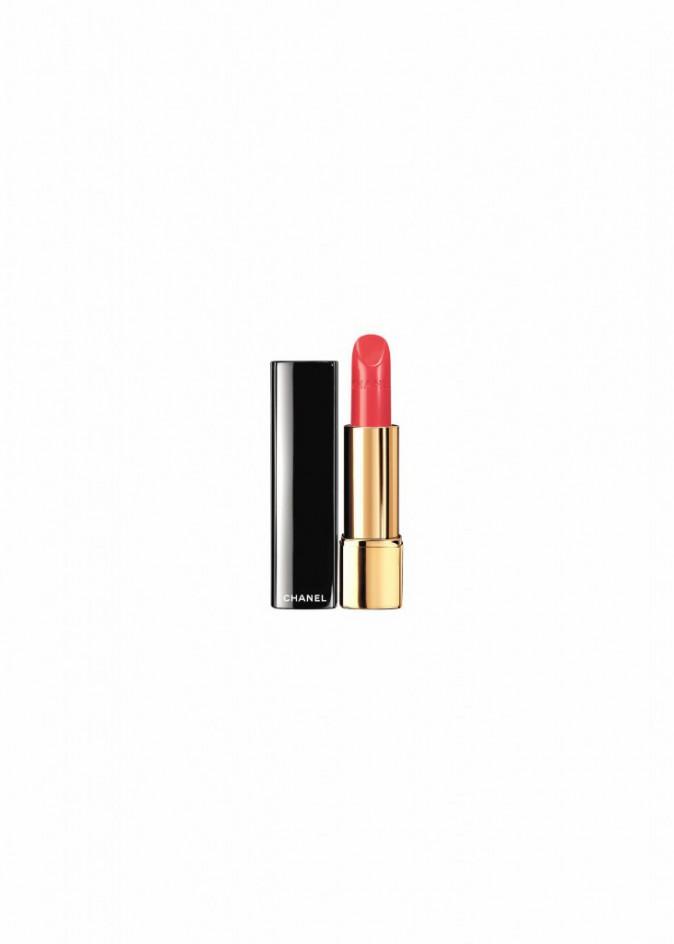 La bouche orange : Rouge à lèvres Rouge Allure, Chanel, 31,50 €