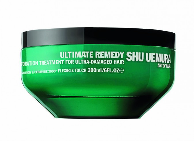 Masque Infusion & Ceramide 3000, Ultimate Remedy, Shu Uemura Art of Hair 56 € LA DEEP CEREMONY, 80 € LES 50 MINUTES