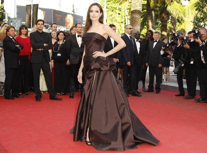 Angelina Jolie sur le tapis rouge