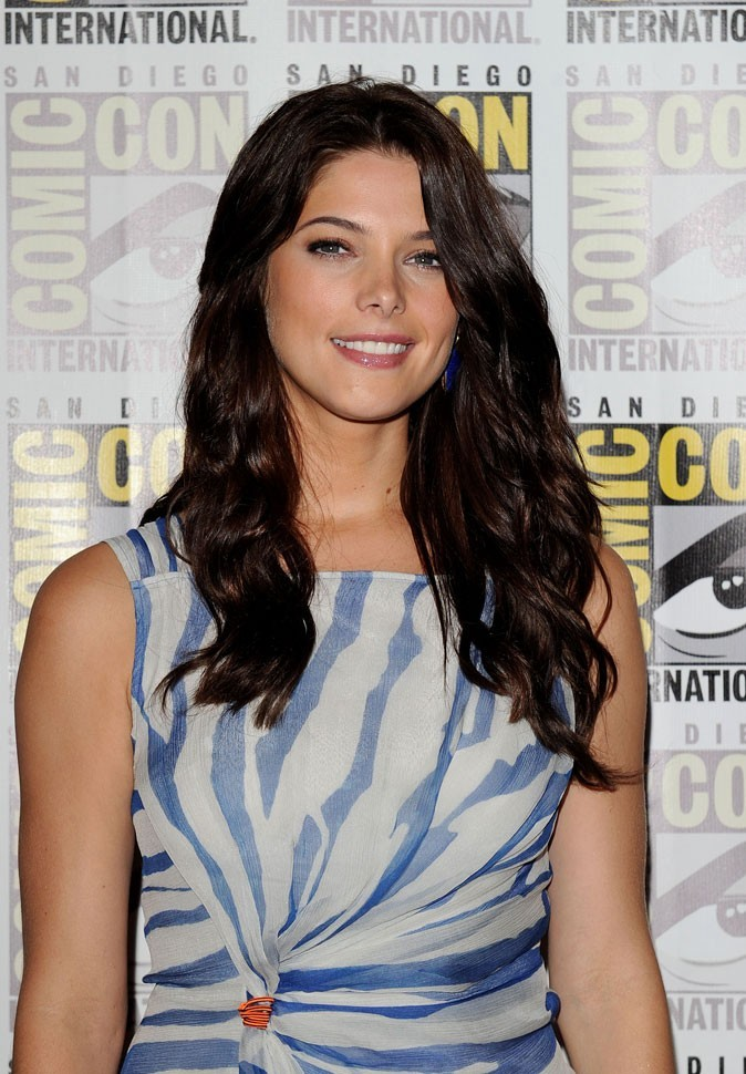 """Ashley Greene, une beauté naturellelors du festival """"Comic Con"""" à San Diego !"""