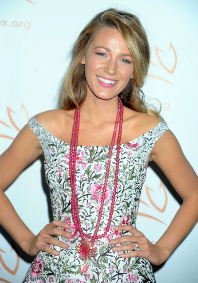 Beauté : Blake Lively : elle avoue son secret pour avoir des cheveux magnifiques !