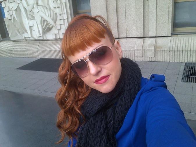 Cindy Sander depuis fin 2013
