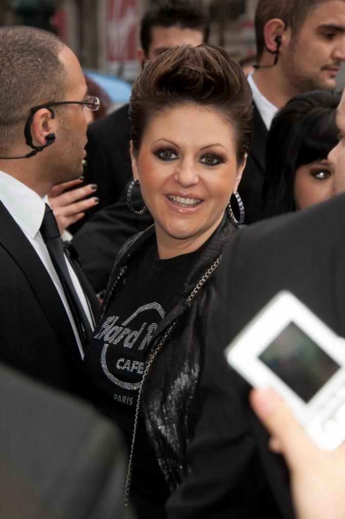 Cindy Sander en février 2011