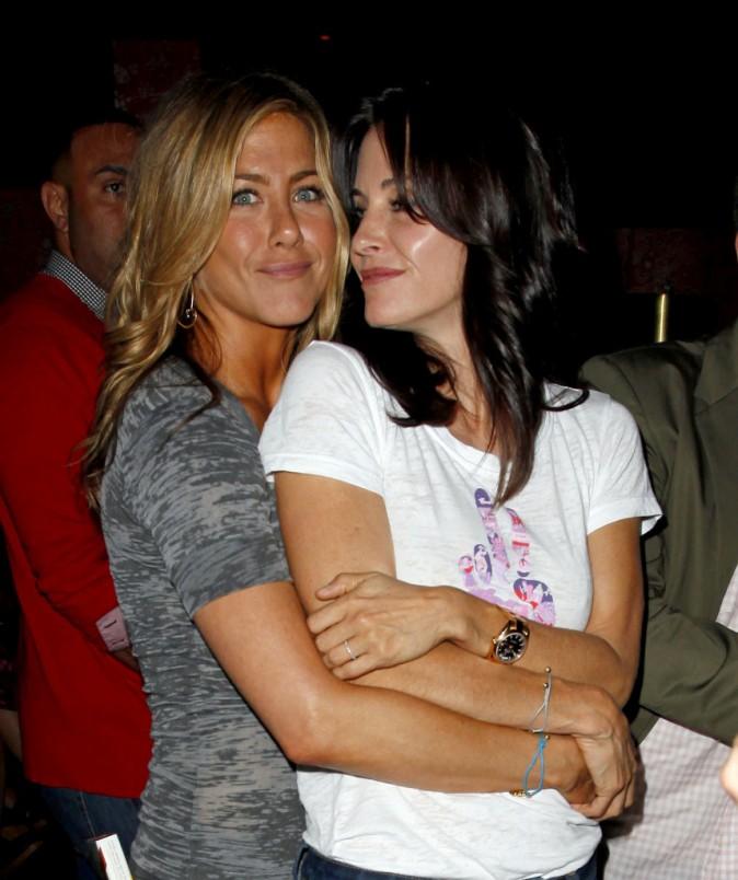 Courteney Cox et Jennifer Aniston