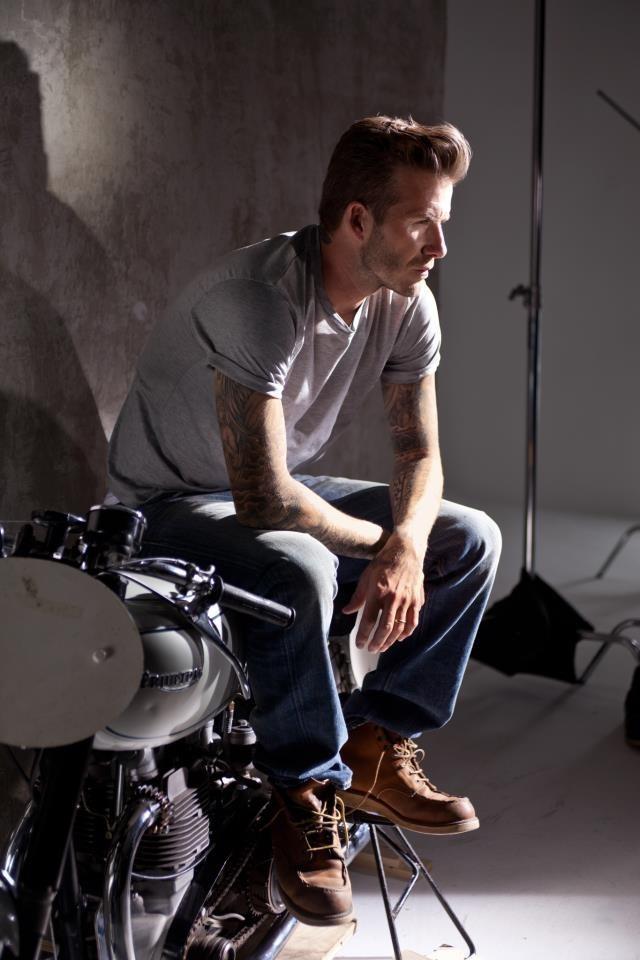 David Beckham pour The Essence !