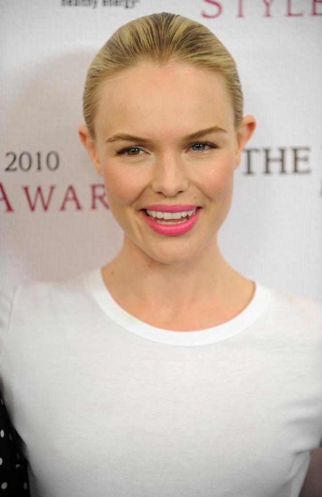 Beauté de star : le rouge à lèvres rose tendance épurée de Kate Bosworth