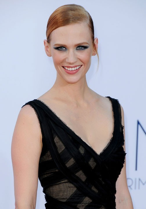 January Jones aux Emmy Awards