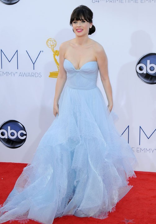 Zooy Deschannel aux Emmy Awards