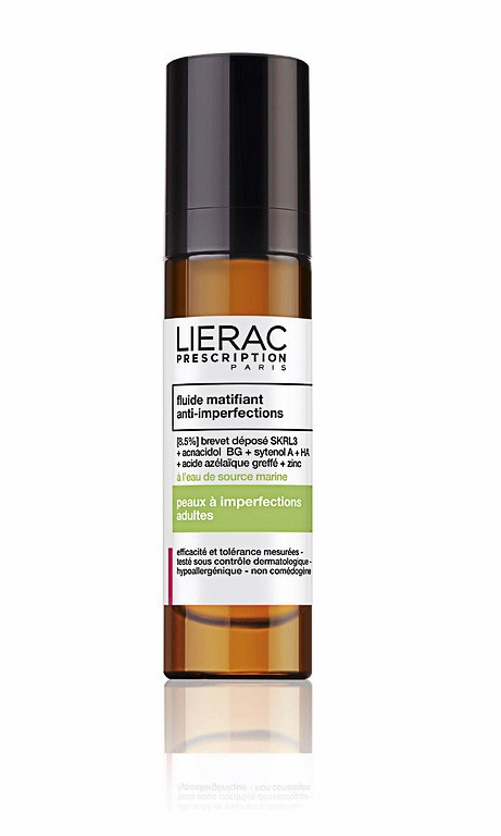 Fluide matifiant anti-imperfections, Lierac Prescription 36,20 €