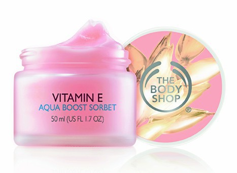 Vitamine E Aqua Boost Sorbet, The Body Shop 16,50 €