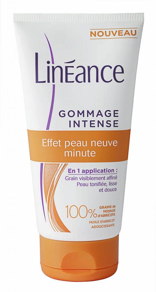 Gommage intense, Effet peau neuve minute, Linéance 5,20 €