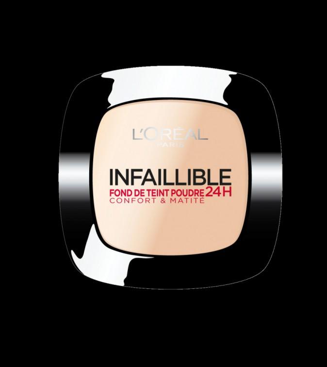 Un fond de teint Poudre 24H, L'Oréal Paris, 19,90€