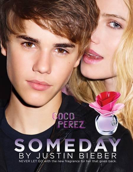 Beauté : Justin Bieber nous dévoile la video de la campagne de pub de son parfum Someday !