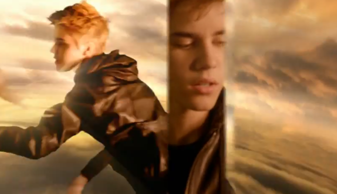 Campagne Someday by Justin Bieber: Justin se prend pour Dieu!