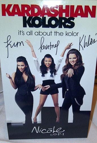 Les soeurs Kardashian présentent Kardashian Kolors !