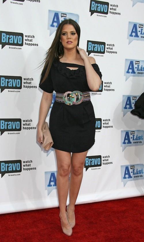 Khloé Kardashian en avril 2009