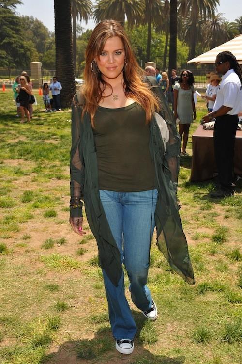 Khloé Kardashian en juin 2008