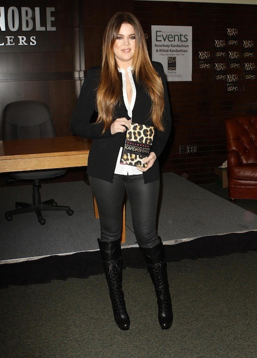 Khloé Kardashian en novembre 2011