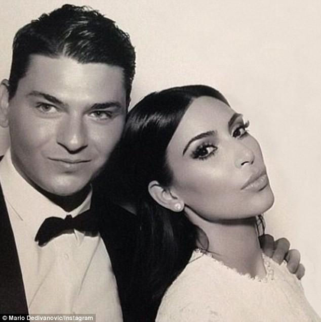 Kim Kardashian et Mario Dedivanovic