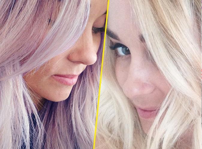Lauren Conrad après le blond foncé et le violet, l'actrice passe au blond platine !