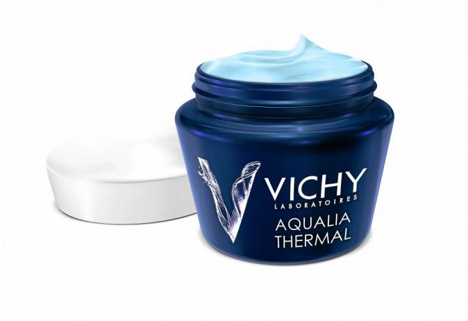 1. J'hydrate la nuit : Soin de nuit, Aqualia Thermal, Effet spa, Vichy, 26 €
