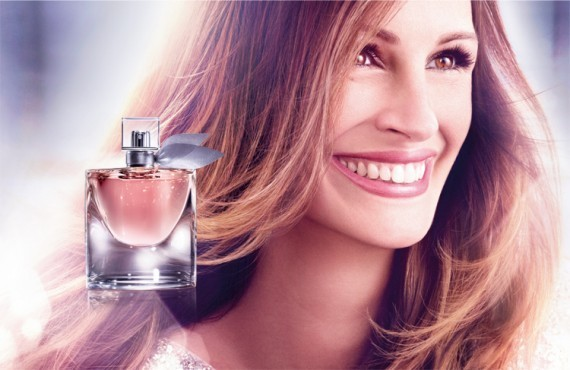 Julia Roberts, sourire charmeur pour Lancôme