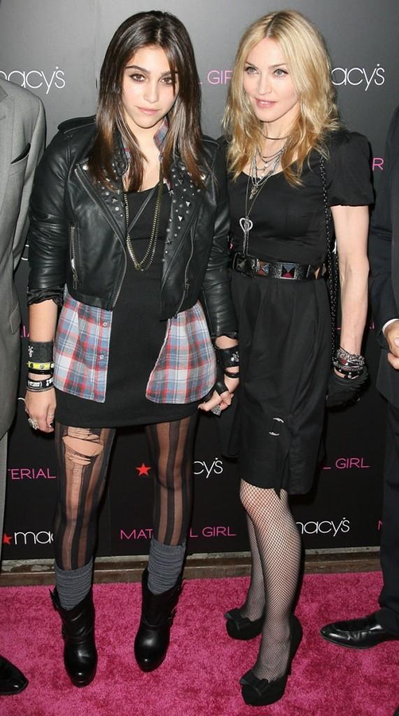 Lourdes et Madonna, le duo de designers pour Material Girl !