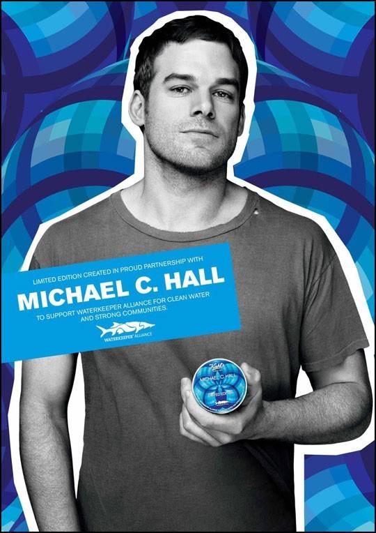 Beauté : Michael C. Hall s'engage avec Kiehl's !