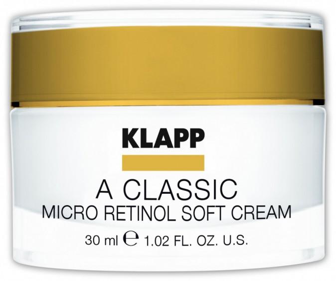 Crème A Classic Micro Rétinol Soft Cream by Klapp 32€