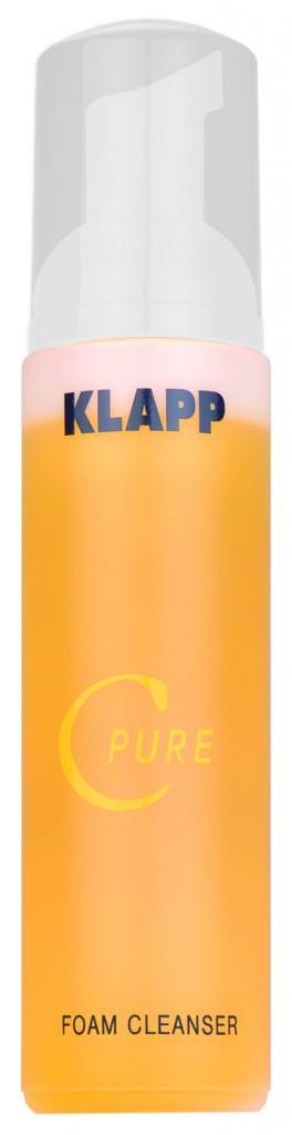 Mousse nettoyante Foam Cleanser C Pure by Klapp, 23€