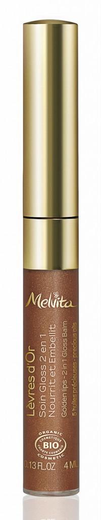 Gloss soin doré, Melvita 12 €