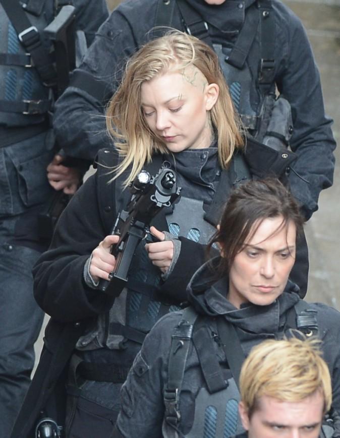 Natalie Dormer dans le rôle de Cressida, Hunger Games