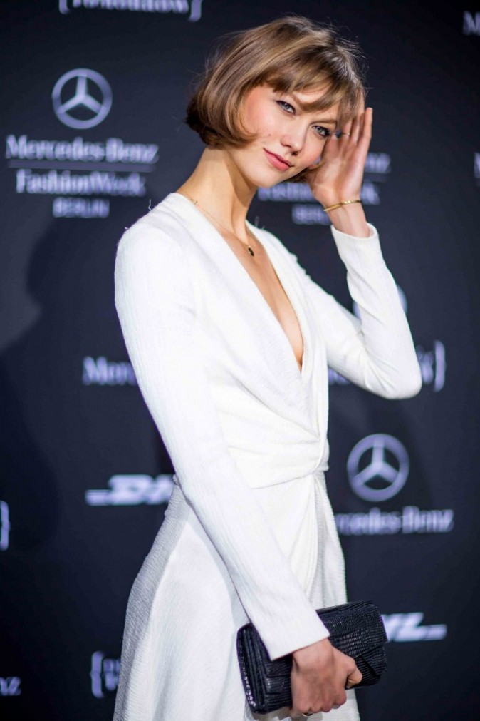 Karlie Kloss à la Fashion Week de Berlin, janvier 2013
