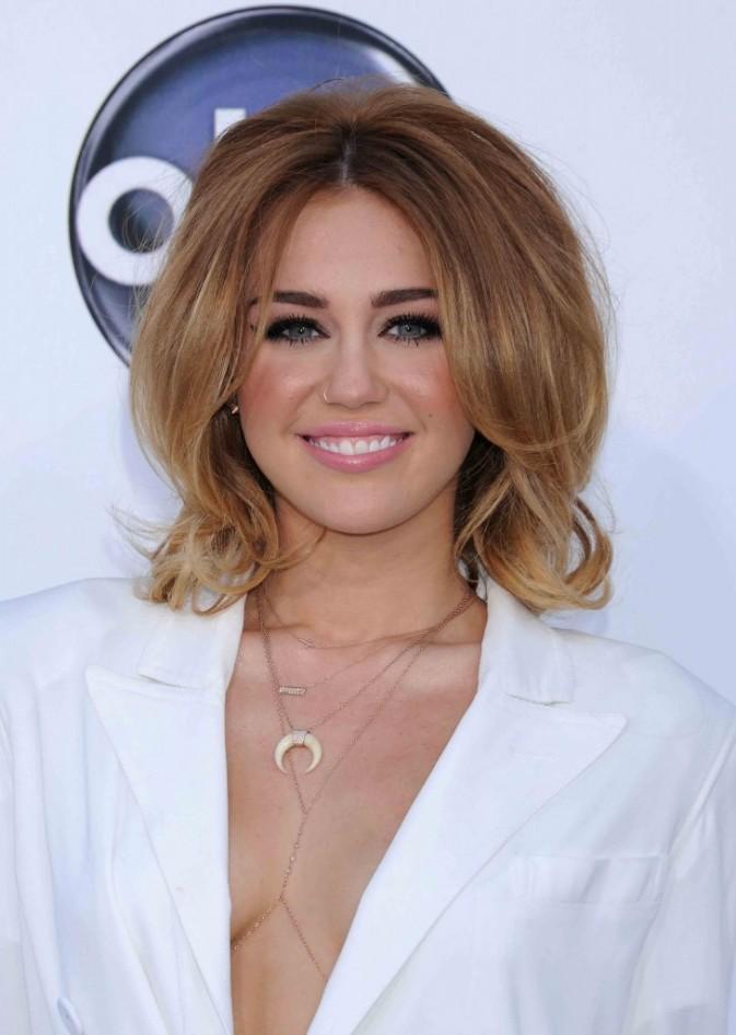 Miley Cyrus lors de la cérémonie des Billboard Music Awards à Las Vegas, mai 2012