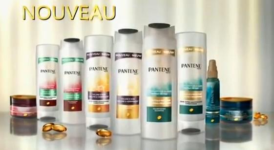 La gamme de shampoings signée Pantene