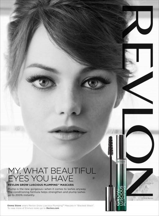Emma Stone pour la campagne Revlon