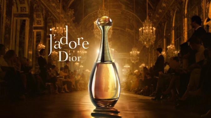J'adore de Dior est le parfum le plus vendu depuis 4 ans en France !