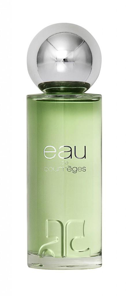 Parfum, Eau de Courrèges 96€ les 90ml
