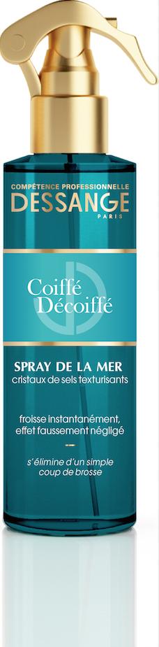 Les produits : Le meilleur rapport qualité/ prix :  Le Spray de la mer « Coiffé Décoiffé » - Dessange Paris – 7,50 €  Sur tout types de ch...