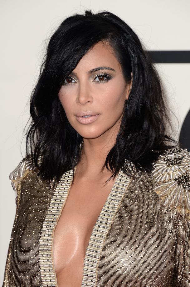 LES STARS ADEPTES DU CARRE WAVY : Kim Kardashian