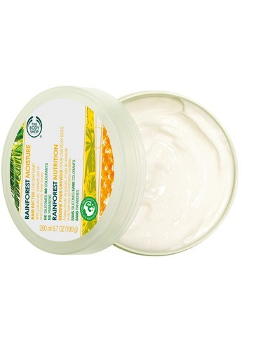 Beurre pour cheveux, Rainforest Nutrition, The Body Shop, 9€