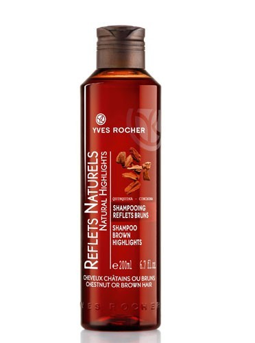 Shampooing Reflets Bruns, Reflets Natures, Yves Rocher, 6€