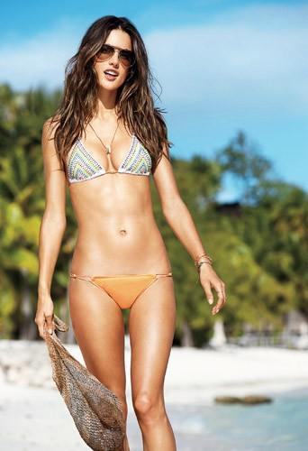 J'ai trop de cellulite, j'adorerais avoir les cuisses de nymphe d'Alessandra Ambrosio